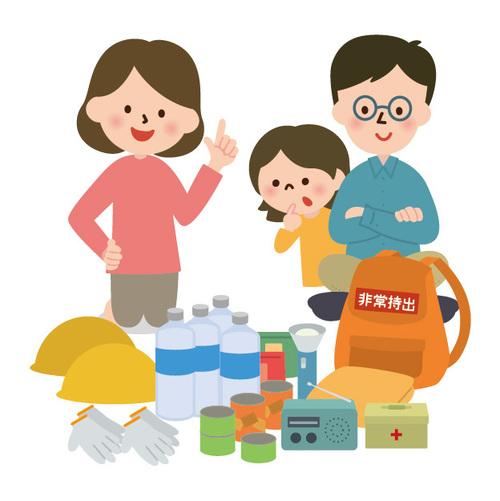 【防災セットリスト付き】「持ち歩く防災」で子どもを守ろう!!のタイトル画像