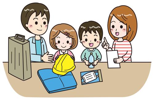【台風・地震】「日ごろの備え」で子どもを守ろう!!のタイトル画像