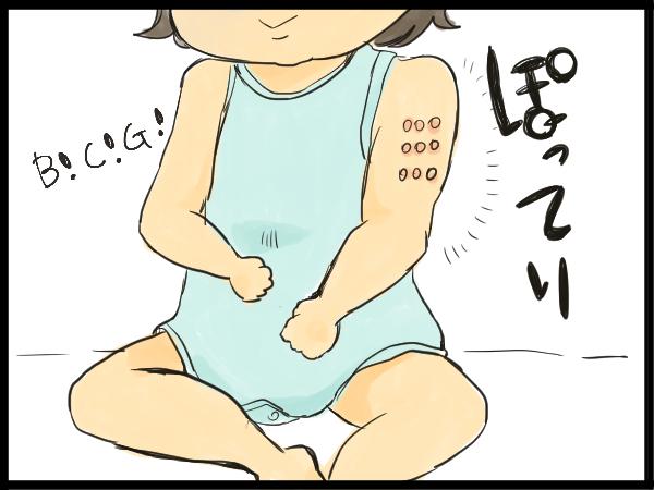 くぅ…我慢しなければ!BCGの予防接種後、私に襲いかかる衝動の画像2