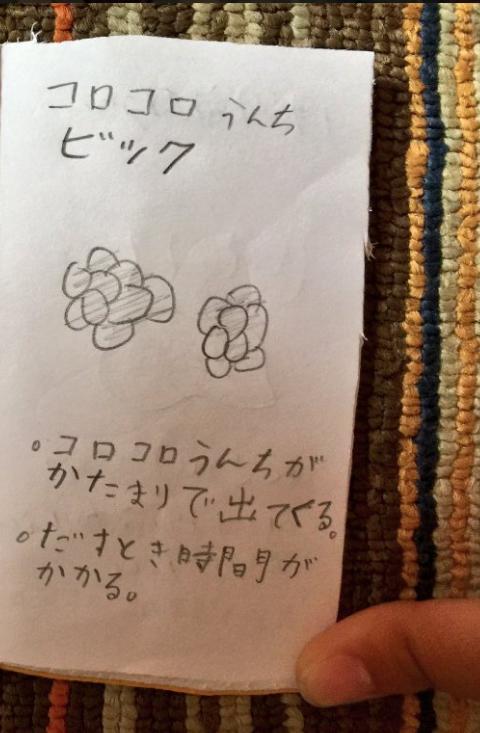 ツイッタ―で話題!子どもが作った「うんちずかん」がおもしろすぎる!!の画像3