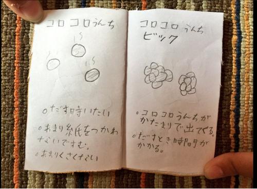 ツイッタ―で話題!子どもが作った「うんちずかん」がおもしろすぎる!!のタイトル画像