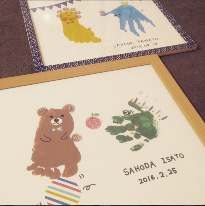 可愛い手形アート♡赤ちゃんの手形を上手に取れる、とっても簡単な方法とは?の画像3