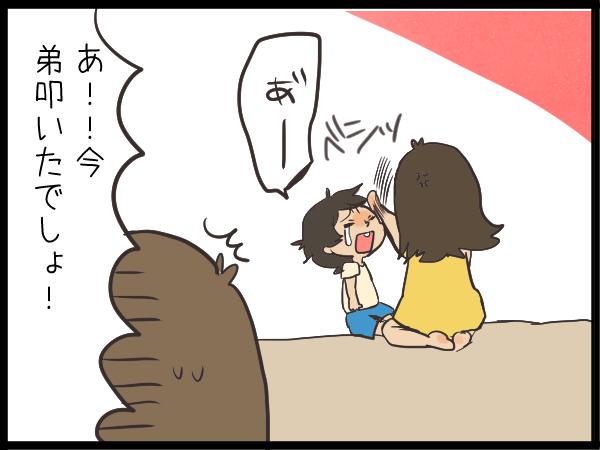 「一緒に遊ぼ!」からのソッコー喧嘩!(泣)お姉ちゃんになりきれない、姉と弟の関係の画像3