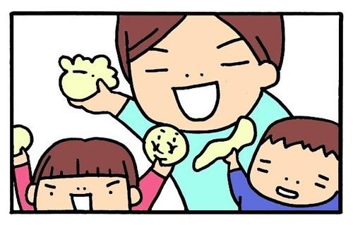 雨の日の室内遊びにぴったり!安全簡単「小麦粉ねんど」の作り方をイラストで紹介!のタイトル画像