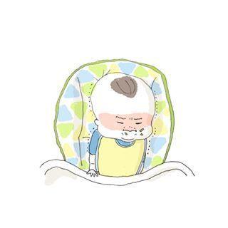 「まだ寝たくないベビー&ママ激痛」何されても最後は癒される♡インスタまとめの画像9