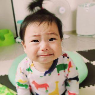 この下くちびるがたまらない♡「#泣くちょい前っ子」の写真、大集合!の画像1
