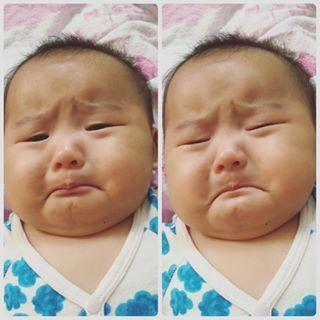 この下くちびるがたまらない♡「#泣くちょい前っ子」の写真、大集合!の画像3