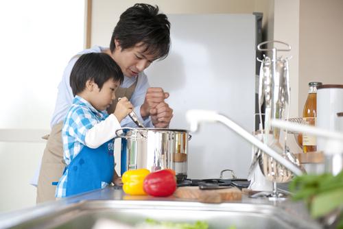 料理初心者のパパが段取り良く料理するポイントは「メニュー選び」にあり!のタイトル画像
