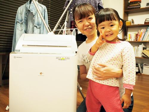 洗濯物、どう乾かしていますか?編集部ママがパナソニックの衣類乾燥除湿機を使ってみた。のタイトル画像