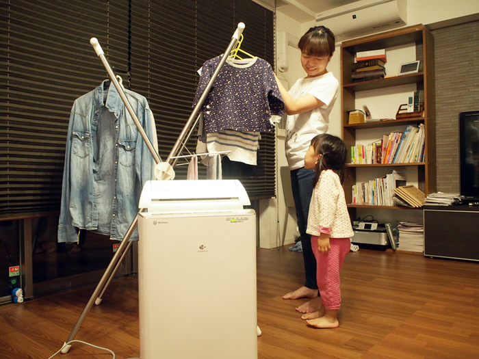 洗濯物、どう乾かしていますか?編集部ママがパナソニックの衣類乾燥除湿機を使ってみた。の画像11
