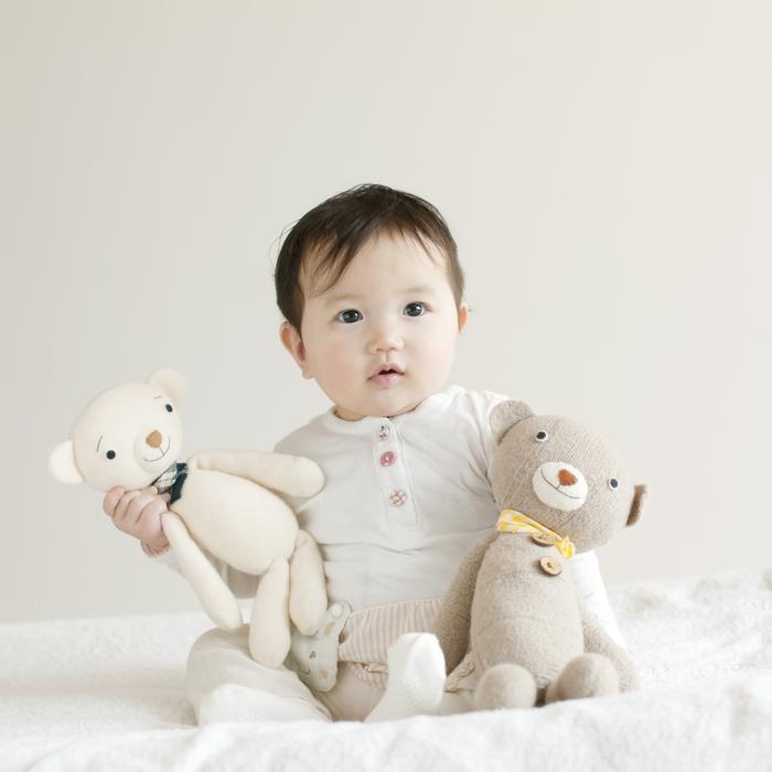 新生児から10歳まで使えるおしゃれなハイチェアで、子どもの成長を記録しよう♡の画像1