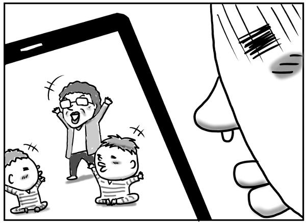 父と息子しばらくの間の涙涙のお別れ…のはずが!?の画像9