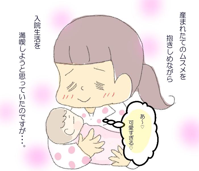 二人目出産後の入院生活で涙がとまらない!楽しみにしていた私に起きた突然の変化の画像5