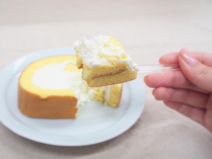 「たっぷりクリーム 至福のロールケーキ」_今日のご褒美スイーツ No.66の画像3