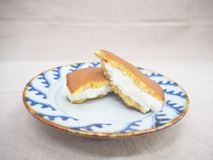 「北海道クリームチーズ使用 レアチーズのしっとりした生どら焼」_今日のご褒美スイーツ No.67の画像4