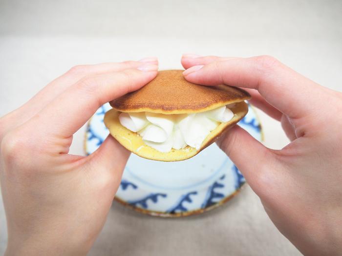 「北海道クリームチーズ使用 レアチーズのしっとりした生どら焼」_今日のご褒美スイーツ No.67の画像3