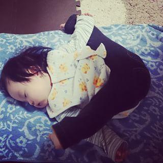 インスタで大流行!「#我が子の最強寝相」が本当に最強♡まとめの画像28