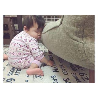 インスタで大流行!「#我が子の最強寝相」が本当に最強♡まとめの画像15