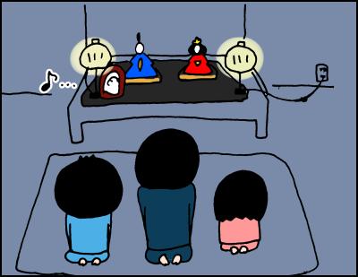 夜な夜な行われる、謎の「おひなさま儀式」がシュールすぎる!(笑)の画像7