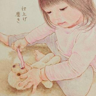 「まるで絵本の世界♡」子どもと過ごす大切な日々を描いたイラストが素敵すぎる!の画像23