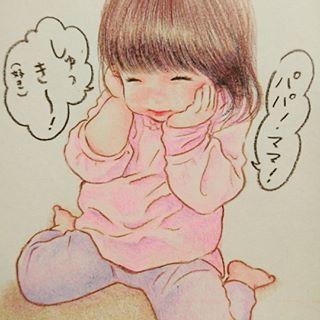 「まるで絵本の世界♡」子どもと過ごす大切な日々を描いたイラストが素敵すぎる!の画像3