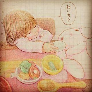 「まるで絵本の世界♡」子どもと過ごす大切な日々を描いたイラストが素敵すぎる!の画像13