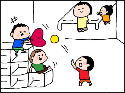 たくさんあったおもちゃがなくなった!さて、子どもの反応はいかに!?の画像4