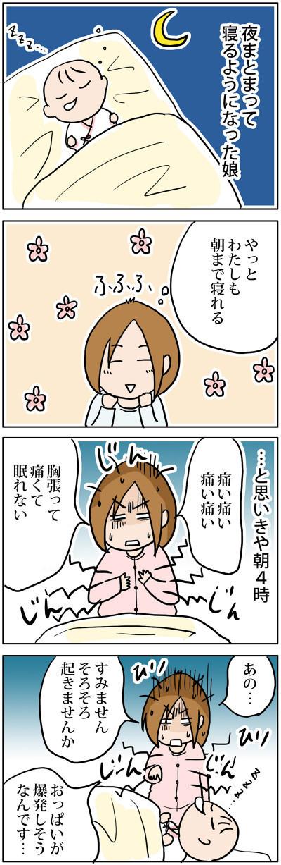 """「寝れると思ったら…」新米ママの""""想定外あるある""""にニヤニヤが止まらない♡の画像3"""