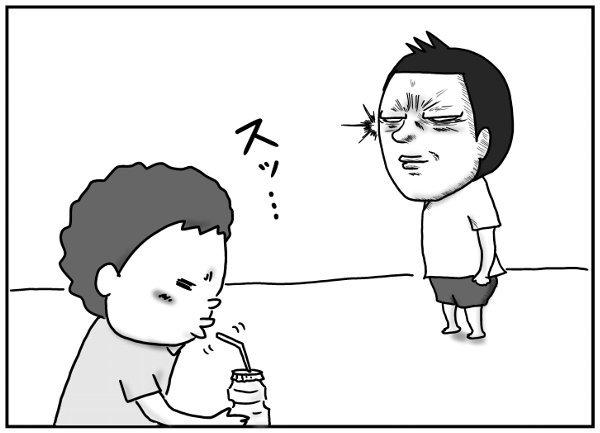 風邪薬を飲ませたい父 vs 絶対に飲みたくない息子。父はついに最終手段に…!の画像12