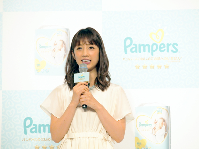 敏感なお肌に、パンパースの新しい「いちばん」を。小倉優子さんも登場したイベントに潜入!の画像1