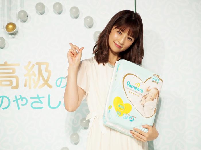 敏感なお肌に、パンパースの新しい「いちばん」を。小倉優子さんも登場したイベントに潜入!の画像12
