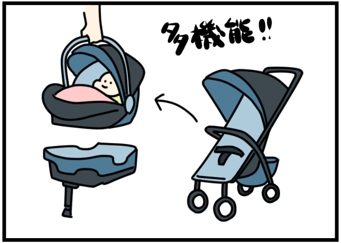 日本でも使えたら楽しそう~!アメリカに来てみたら、ベビーカーが多種多様でびっくりの画像1