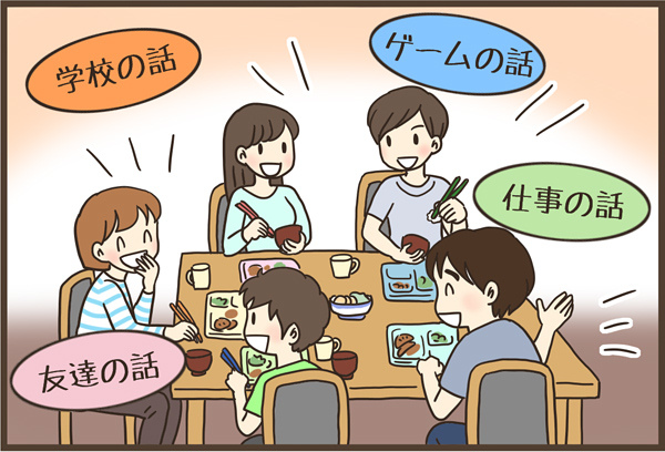 食事の時、テレビつける?つけない?家族の会話が広がったテレビとの付き合い方の画像6