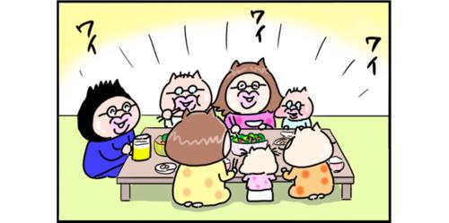 核家族ならではの悩みかも。食事中にハッとさせられた子どもの一言のタイトル画像