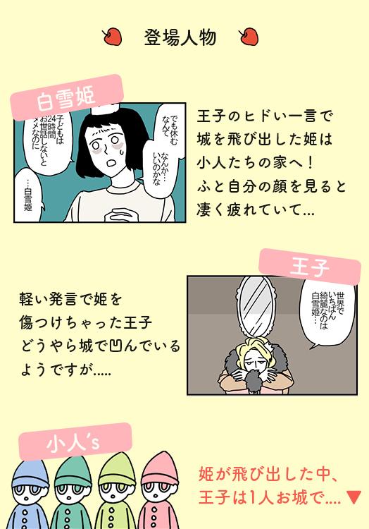 すれ違う白雪姫と王子。まさか、離婚の危機!? / ママは白雪姫 第4話の画像1