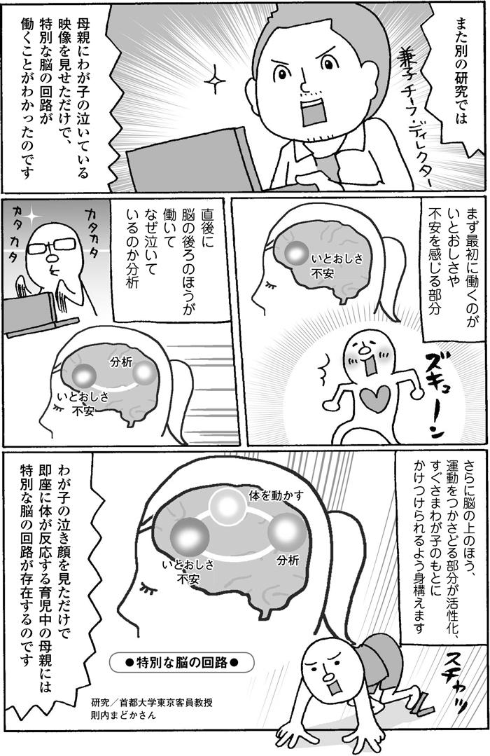 どうして夫の育児にイラっとするのか?答えは男女の脳の違いにあった!の画像12