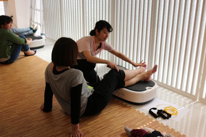 初の参加型イベント「コノビーCafe」で、産後の体ケアトレーニングを体験しました! の画像8