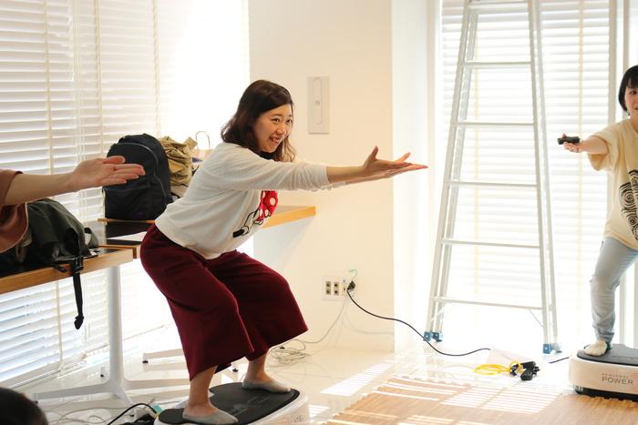 初の参加型イベント「コノビーCafe」で、産後の体ケアトレーニングを体験しました! の画像11