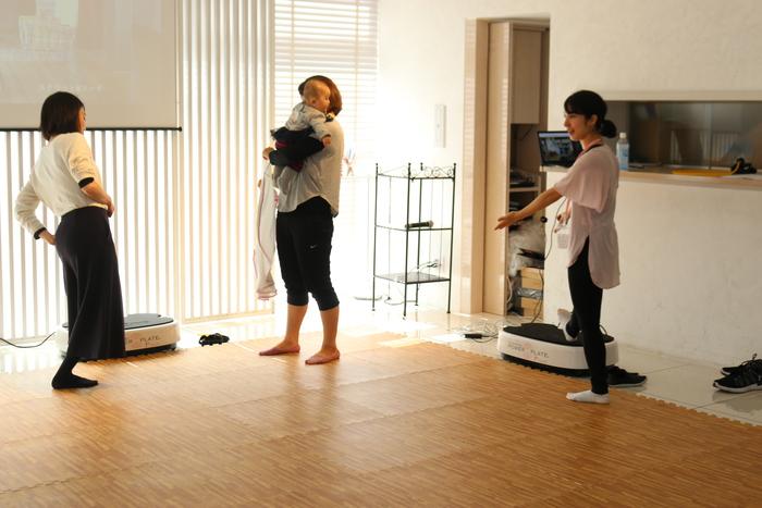 初の参加型イベント「コノビーCafe」で、産後の体ケアトレーニングを体験しました! の画像7