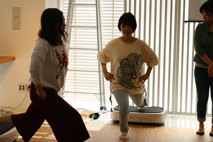 初の参加型イベント「コノビーCafe」で、産後の体ケアトレーニングを体験しました! の画像12