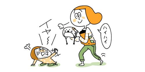 上の子のイヤイヤ期×赤ちゃん返り!乗り切る原動力は、やっぱりアレだったのタイトル画像