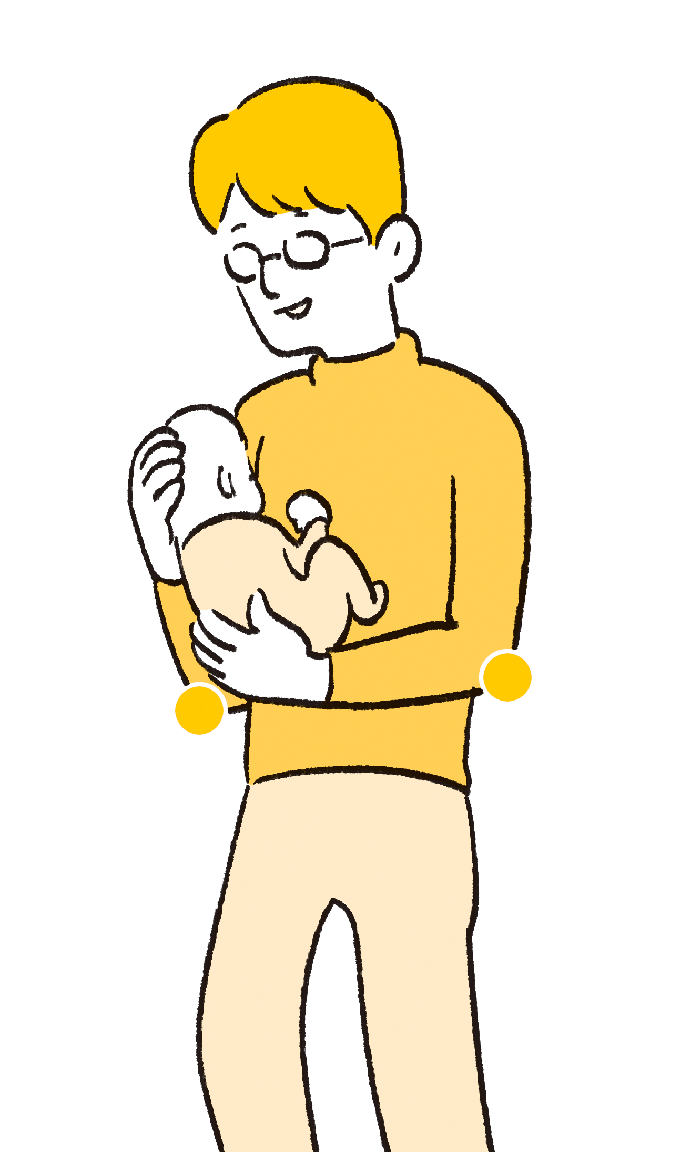 """毎日の抱っこで腱鞘炎!を予防する""""疲れない育児テク""""の画像3"""