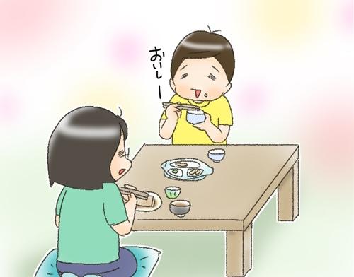 「おいしい」だけじゃなかった!グルメ番組が好きな息子の食レポをどうぞ!のタイトル画像