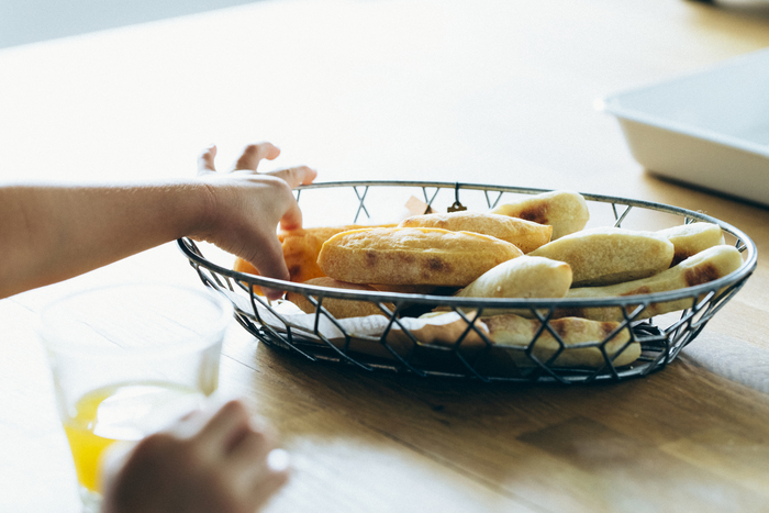 離乳食にも!「前の日5分→朝10分」の手作り野菜スティックパン♪の画像1