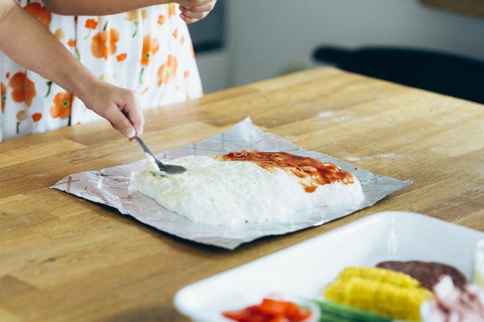 こんなに簡単でいいの?子どもと一緒に生地から作る「おうちピザ」の画像19