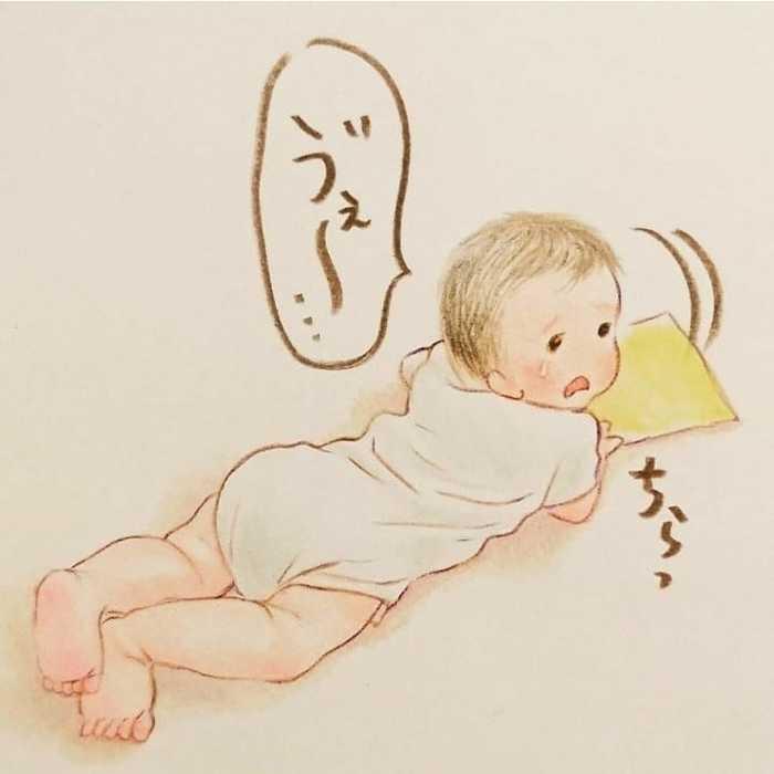 最高に癒されるイラストで大人気!shirokumaさんに2人育児についてインタビューしました!の画像8