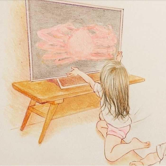 最高に癒されるイラストで大人気!shirokumaさんに2人育児についてインタビューしました!の画像4