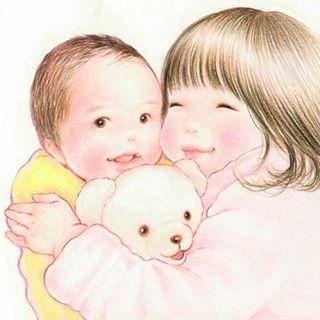 最高に癒されるイラストで大人気!shirokumaさんに2人育児についてインタビューしました!の画像1