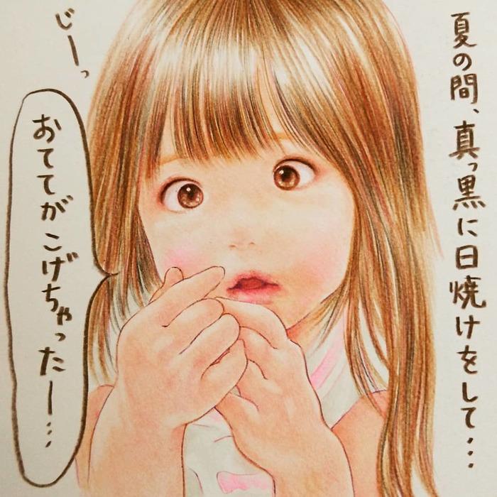 最高に癒されるイラストで大人気!shirokumaさんに2人育児についてインタビューしました!の画像10