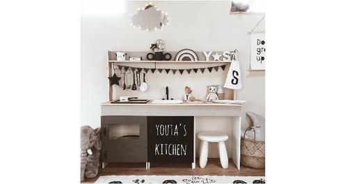 えっ、これが手作り!?イマドキ「ままごとキッチン」のクオリティが凄すぎる!のタイトル画像